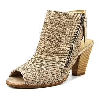 Paul Green Sabrina Women  Peep-Toe Leather Nude Slingback Heel