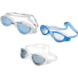 FINIS Energy Adjustable Comfort Classic Swim Fitness Goggles (Option: clear/smoke)