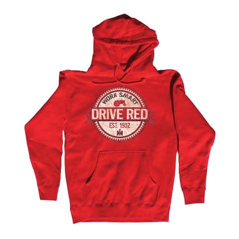 Work Smart Drive Red - Men's Pullover Hoodie