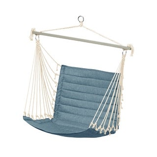 Link to Duck Covers Weekend 27 Inch Quilted Hammock Chair Similar Items in Patio Furniture
