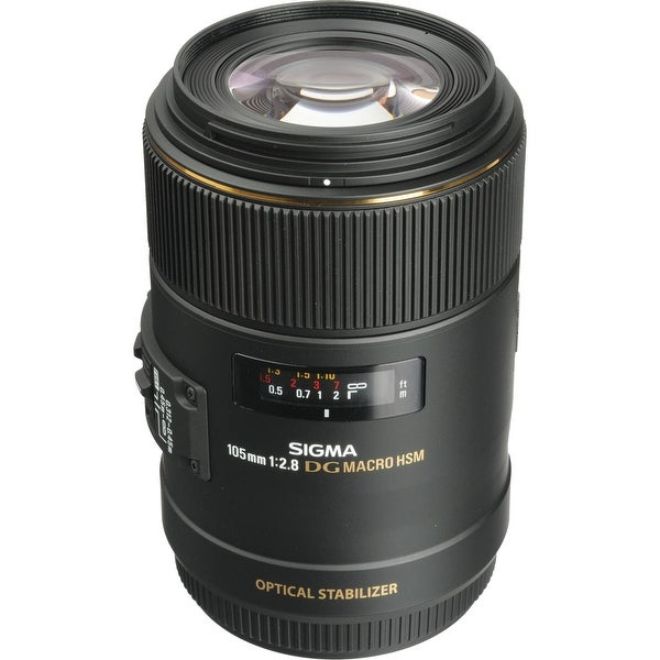Sigma 105mm f/2.8 EX DG OS HSM Macro Lens for Canon EOS Cameras (International Model)