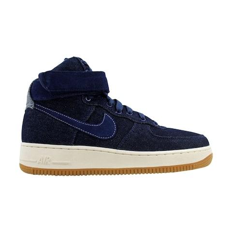 lowest price 7f296 2c045 Nike Air Force 1 Hi SE Binary Blue Muslin-Sail Denim 860544-400