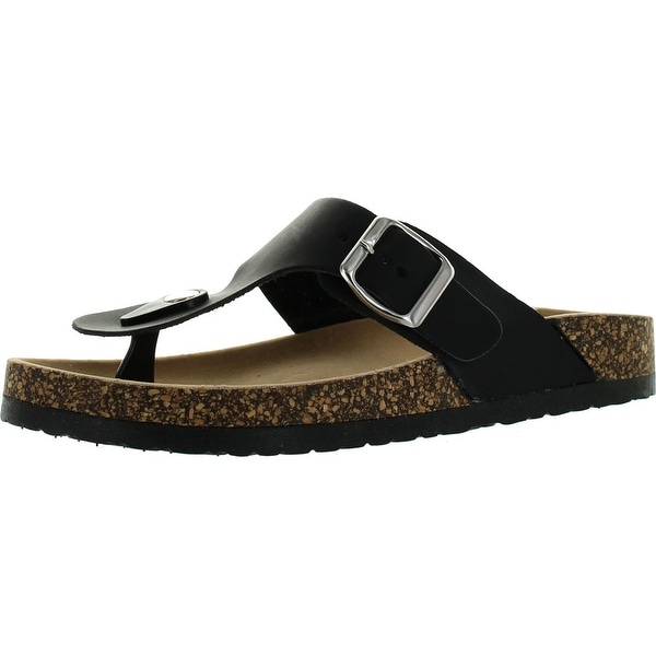 Anne Marie Womens Glory-1 Super Soft Bed Stud Flat Thong Sandals
