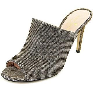 Kate Spade Ilisandra Peep-Toe Synthetic Mules