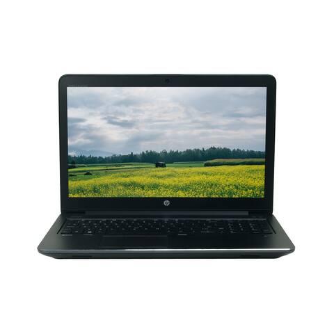 """HP ZBook 15 G3 Core i7-6700HQ 2.6GHz 16GB RAM 512GB SSD 15.6"""" Full HD Win 10 Pro Laptop (Refurbished)"""