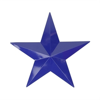 "11.5"" Navy Blue Country Rustic Star Indoor/Outdoor Wall Decoration"