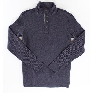 Michael Kors NEW Purple Mens Size Medium M Stripe Polo Swearter