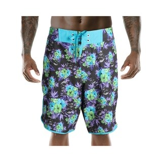 Under Armour Mens Aita Board Floral Print Hydro Armour Board Shorts