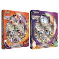 The Pokemon PKU80329 Ultra Beasts GX Premium Collection Card Games