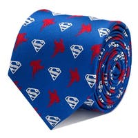 Superman Blue Tie - One Size Fits most