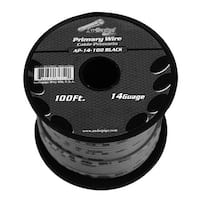 Audiopipe 14 Gauge 100Ft Primary Wire Black
