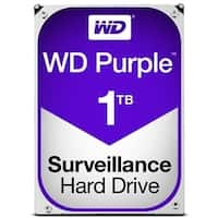 Western Digital Hard Drive WD10PURZ WD Purple AV 3.5 1TB 64MB SATA 6Gb/s Bulk
