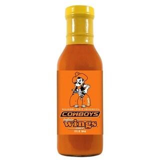 Hot Sauce Harrys OKLAHOMA STATE Cowboys Buffalo Wings Sauce - 12oz