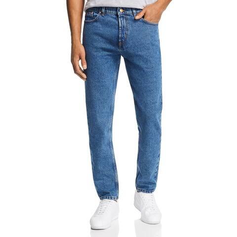 Hugo Boss Hugo Mens Slim Tapered Fit Jeans 30 x 30 Medium Blue