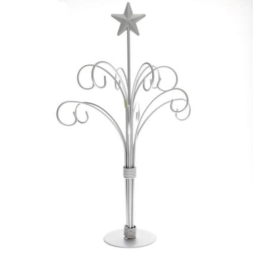 Silver 12 Arm Ornament Stand Ornament