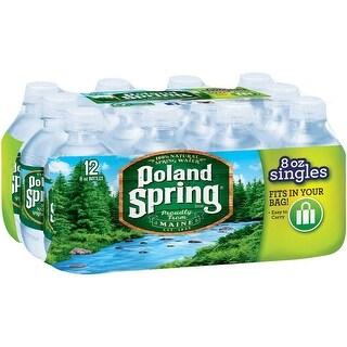 Poland Spring Original Spring Water - (Case of 48 - 8 fl oz)