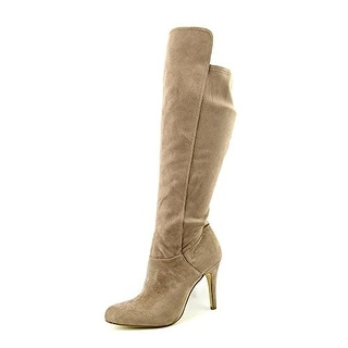 INC International Concepts Women's Tacy Synthetic Knee High Boot