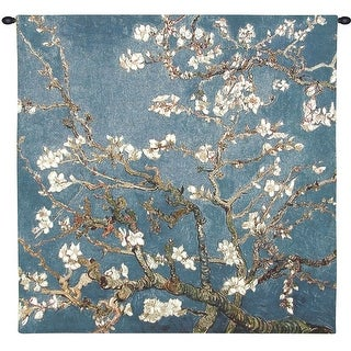 Van Gogh Wall Tapestry - Blossoming Almond Tree