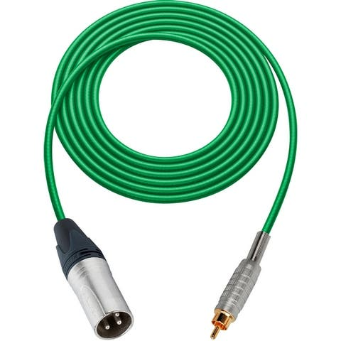 Sescom MSC15XR Audio Cable Mogami XLR Male to RCA Male