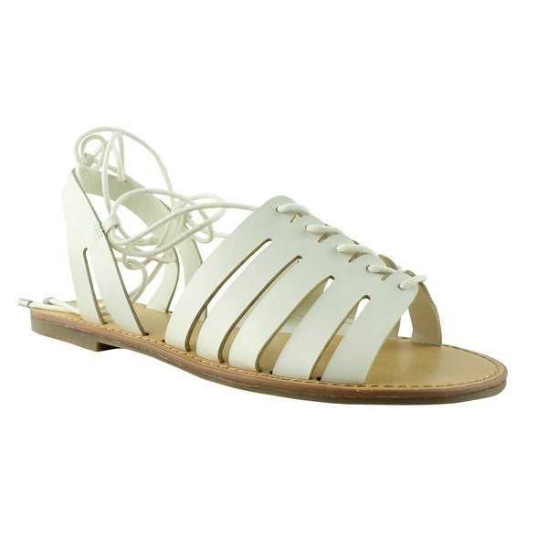 cc052b49476 Indigo Rd. Womens White Ankle Strap Sandals Size 7.5 New. Click to Zoom