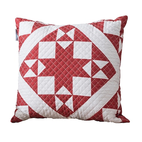 Country Living Little Stars Quilted Throw Pillow