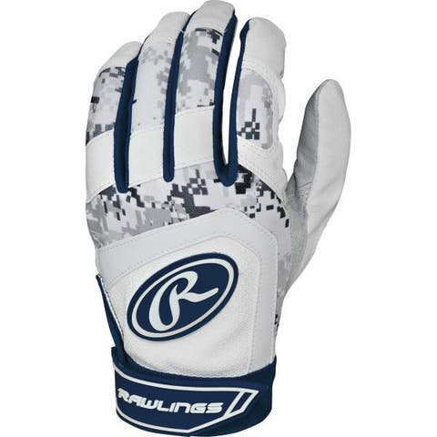 Rawlings 5150 Batting Gloves (Navy Blue/Youth Medium)