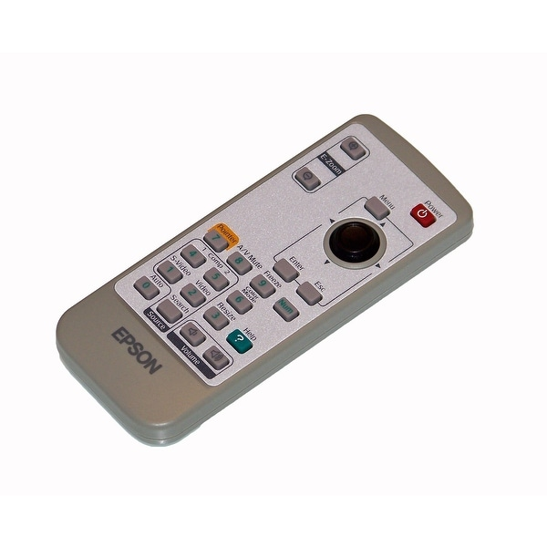 Epson Remote Control Originally Shipped With EMP-6000, EMP-6100, PowerLite 6100i