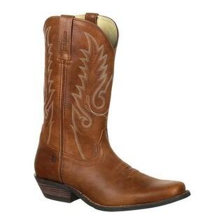 Durango Boot Men's DDB0162 Gambler Western Cowboy Boot Broadway Brown Full Grain Leather