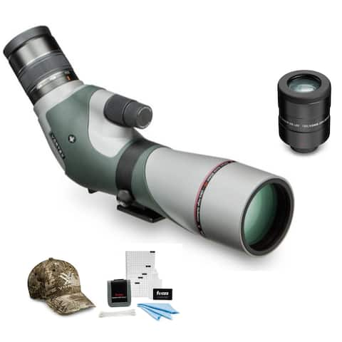 Razor HD 16-48x65 Angled Spotting Scope with 18x-23x Eyepiece Bundle