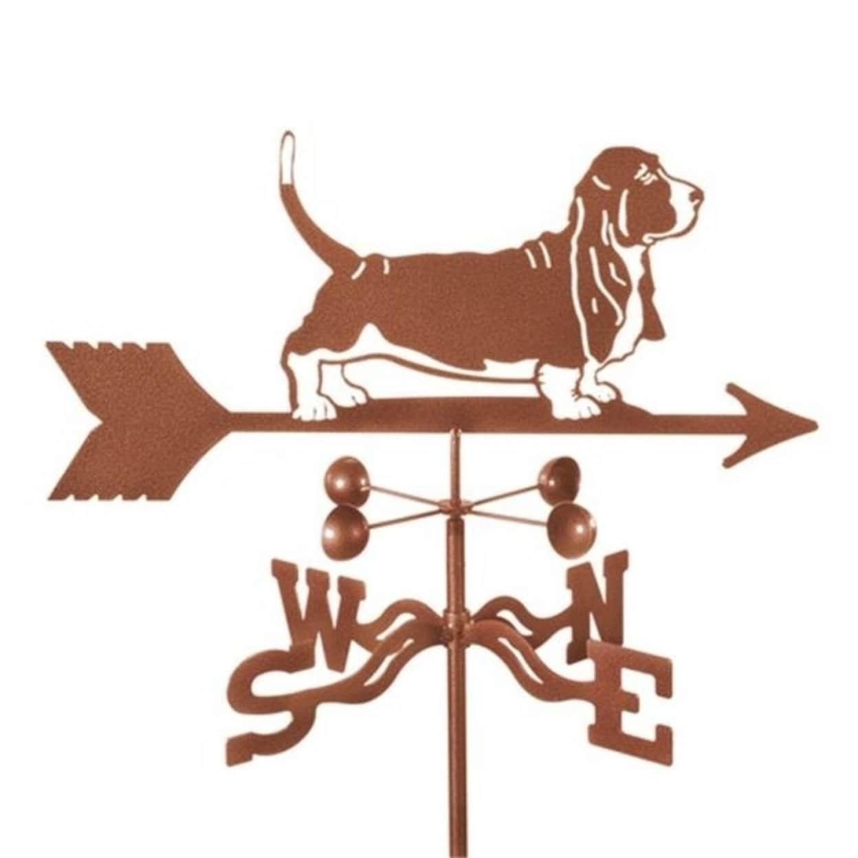 Ez Vane Ez1400 Rf Dog Basset Hound Weathervane With Roof Mount Overstock 31324484