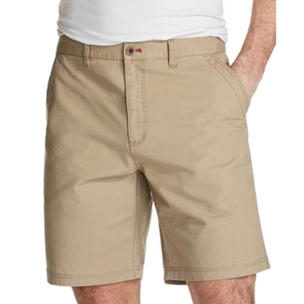 Weatherproof Mens Shorts Beige Size 42 Flat Front Classic Fit Chinos -  Overstock - 31731985