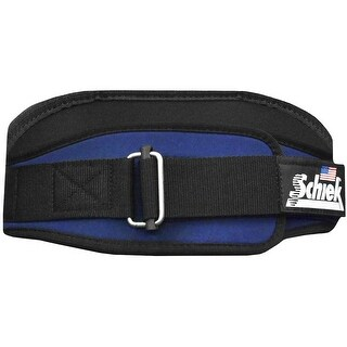 "Schiek Sports Model 2006 Nylon 6"" Weight Lifting Belt - Navy Blue - Navy blue"