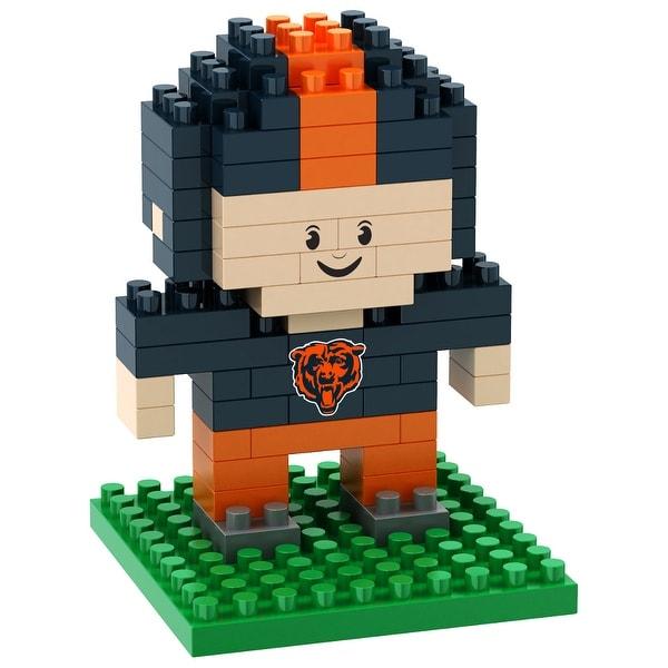 Chicago Bears 3D NFL BRXLZ Bricks Puzzle Player