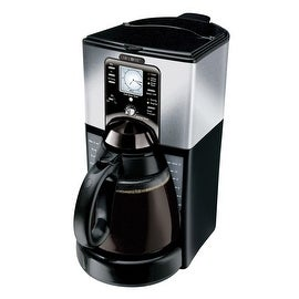 Mr. Coffee FTX45 Programmable Coffeemaker, 12-Cup, Black