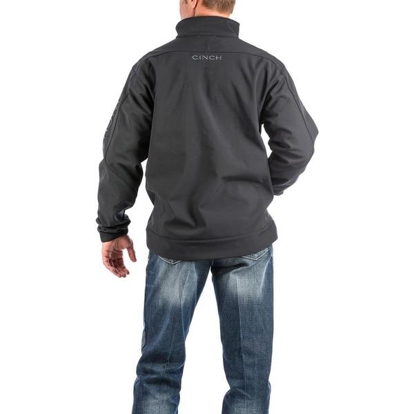 Cinch Mens Hybrid Bonded Logo Zip Jacket