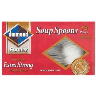 Jarden Home Brands Plastic Soup Spoons 4142600040 Unit: BOX