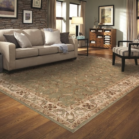 Superior Heritage Traditional Oriental Medallion Area Rug Collection