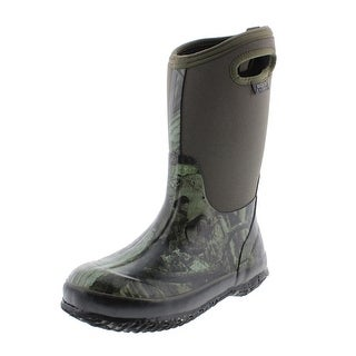 Bogs Boys Classic Mossy Oak Insulated Youth Rain Boots - 7