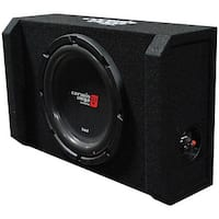 "Cerwin Vega HED 10"" Shallow Subwoofer Mini Enclosure"