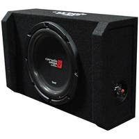"Cerwin Vega HED 12"" Shallow Subwoofer Mini Enclosure"