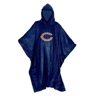 Link to Chicago Bears Stormfront Lightweight Poncho Similar Items in Scarves & Wraps