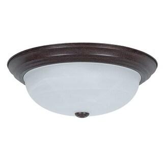 """Sunset Lighting F7634 3-Light 180 Watt 15"""" Wide Flush Mount Ceiling Fixture - N/A"""