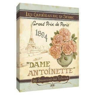 "PTM Images 9-154481  PTM Canvas Collection 10"" x 8"" - ""French Seed Packet II"" Giclee Signs Art Print on Canvas"