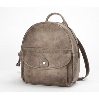 Frye Womens Melissa Mini Backpack, Ice, Os