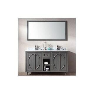 "Miseno MV-SPA60 Spazio 60"" Free Standing Vanity with Vanity Top and Undermount Sink"