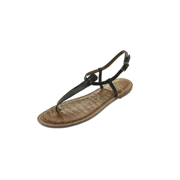 5a216c89fac6e Shop Sam Edelman Womens Gigi Thong Sandals Buckle T-Strap - Free ...