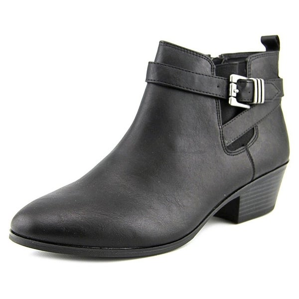 Style & Co. Womens HUCKK Round Toe Ankle Fashion Boots