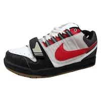 Nike Men's Air Heist Neutral Grey/Varsity Red-Black-White 317762-061 Size 8.5