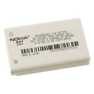 Nokia BLB-3 Standard Lithium Ion Battery for Nokia 6340/ 6360/ 6370/ 6385/ 8260
