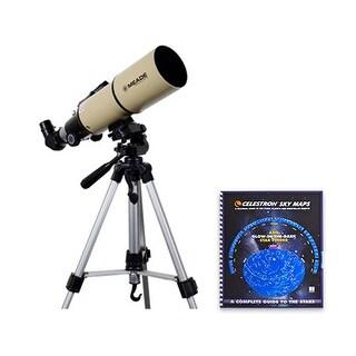 Meade Instruments Adventure Scope Telescope - 80mm With Skymaps Telescope
